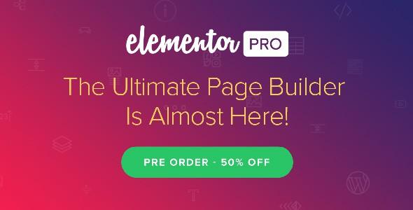 Elementor Pro [Có Key] số 1 kéo thả